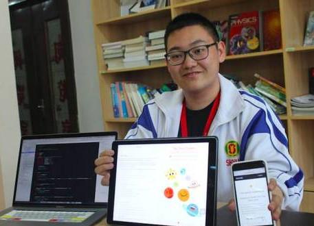 这位高中生6岁开始编程,现是苹果工程师