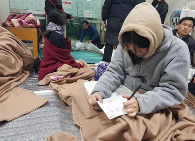 高考前一天突发地震 韩教育部临时决定推迟高考